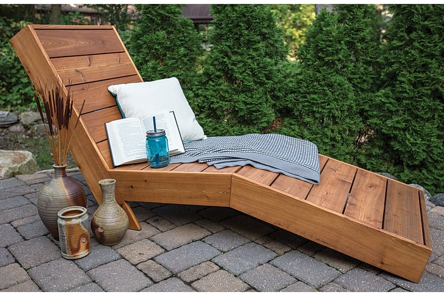 Diy Tahitian Style Reclining Chaise
