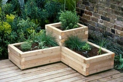 Diy Tiered Wood Flower Boxes 2