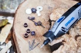 Familiarize Yourself With The Dremel Tool And The Attachments