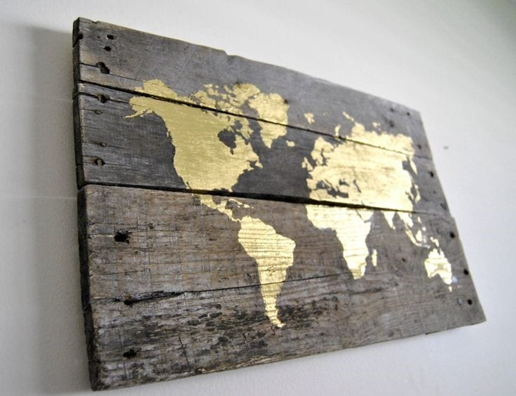How To Apply Gold Leaf To Wood