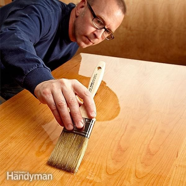 How To Make A Wood Table Top Smooth