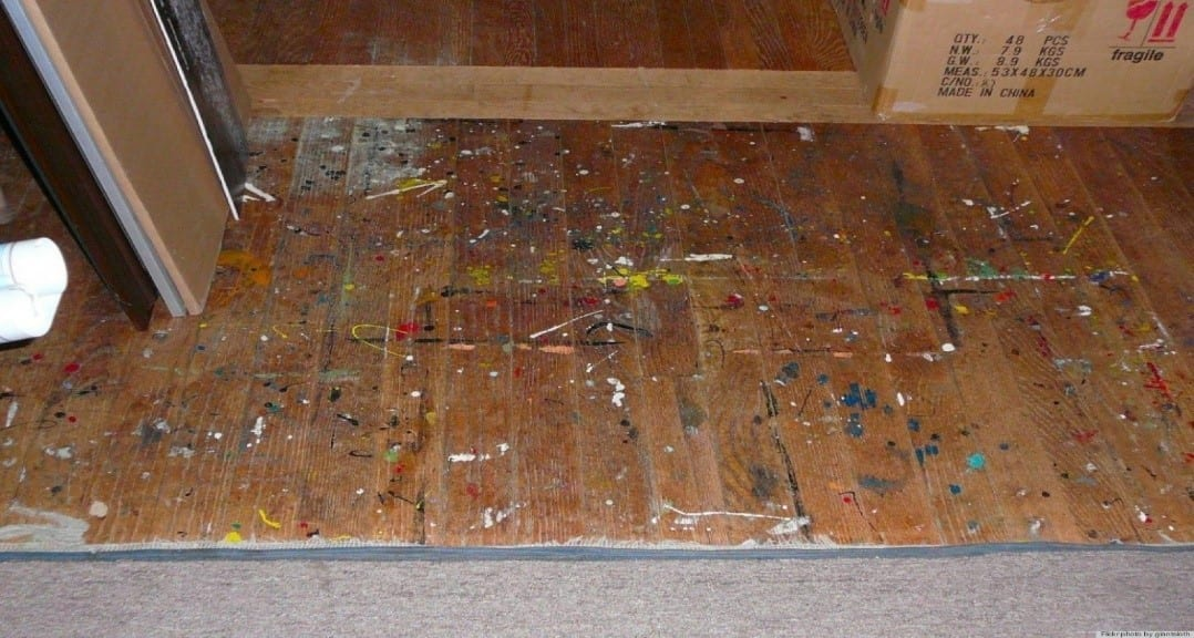 How to Get Paint off Stained Wood – Cut
