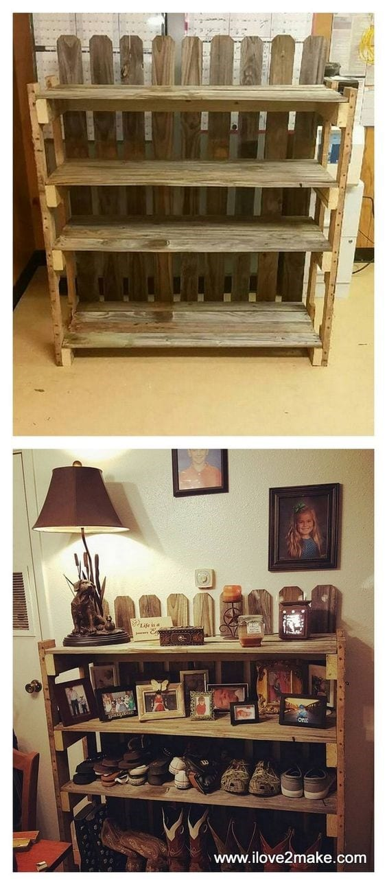 Old Divider To New Shoe Organizer