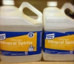 Solvents Such As Mineral Spirits And Paint Thinner