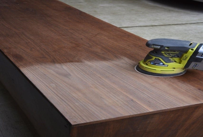 Step 1 How To Fix Blotchy Wood Stain