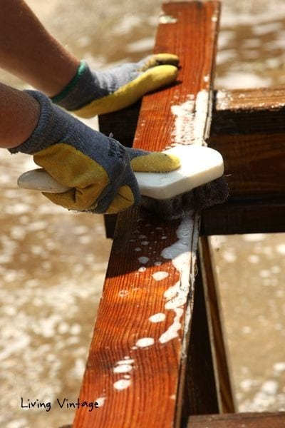 Step 2 How To Clean Reclaimed Wood