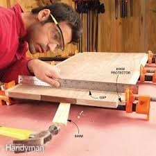 Step 3 How To Join Wood Planks For Table Top