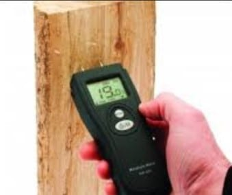 Step 5 Use A Moisture Meter To Determine The Amount Of Moisture In Your Wood