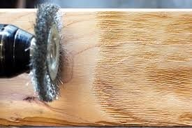 Use A Steel Wool And Soft Wire Brush