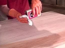 Applying A Pre Stain Conditioner Is Important To Absorb Stain Evenly