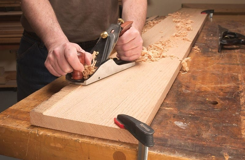 The Middle Piece Needs To Be Passed Over The Jointer Thrice