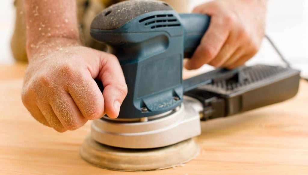 Use A Brush Attachment To Remove Sanding Dust