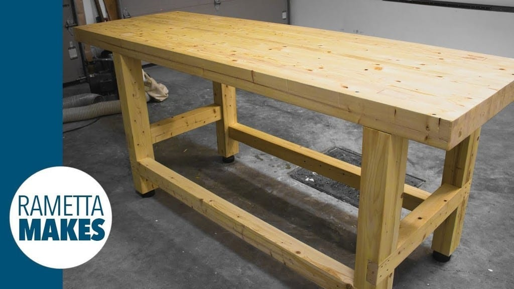 2X4 Workbench With Levelling Feet