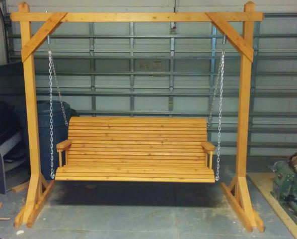 Basic Porch Swing For Beginners