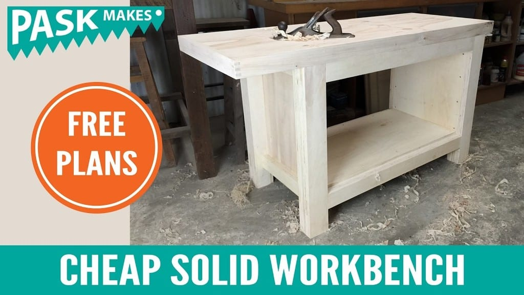 Cheap Easy To Build Solid Workbench