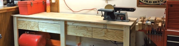 Cheap Workbench With Drawers