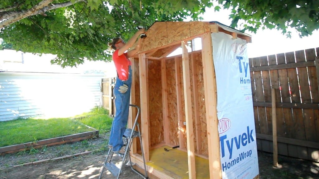 Cheap And Easy To Build Garden Shed