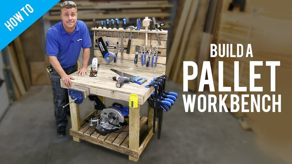 Diy Workbench With Pallets