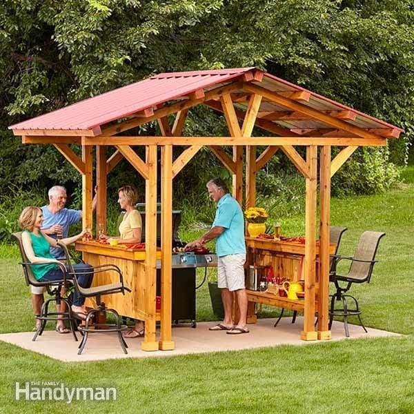 Grill And Gazebo In One