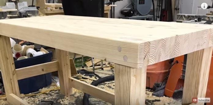 Heavy Huge 100 Laminated Workbench