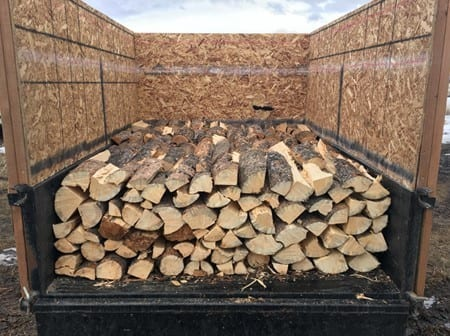 How Much Is Half A Cord Of Wood