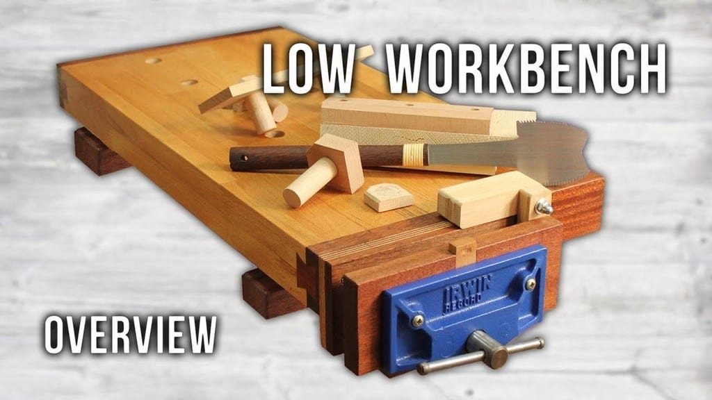 Mini Woodworking Bench