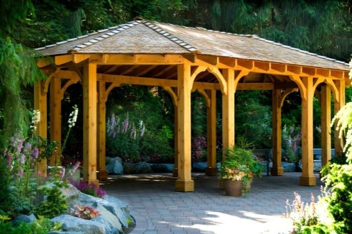 Open Design Oval Gazebo Inspiration
