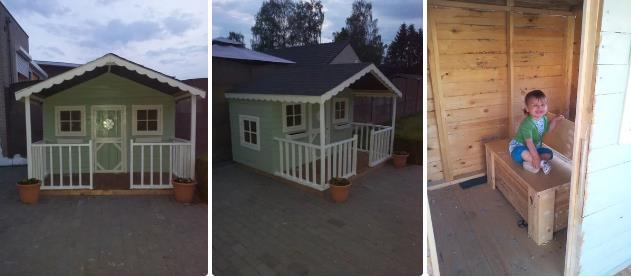 Pallets Playhouse By Instructables