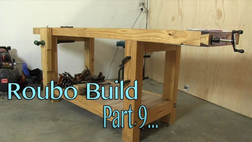 Roubo Style Woodworking Bench From 2X6 Construction Lumber
