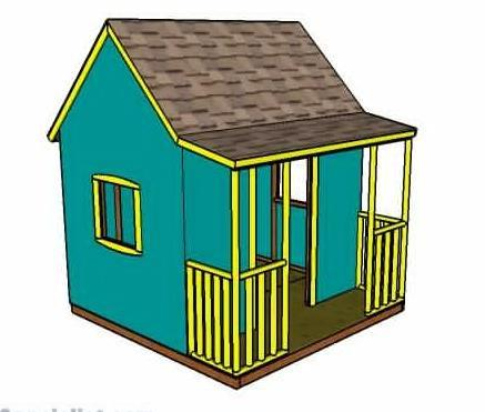 Simple Outdoor Diy Playhouse Plan By How To Specialist 1