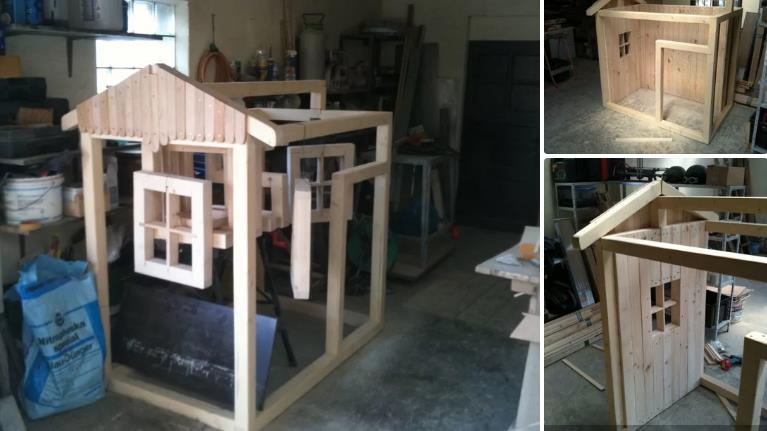 Simple Playhouse By Instructables 2