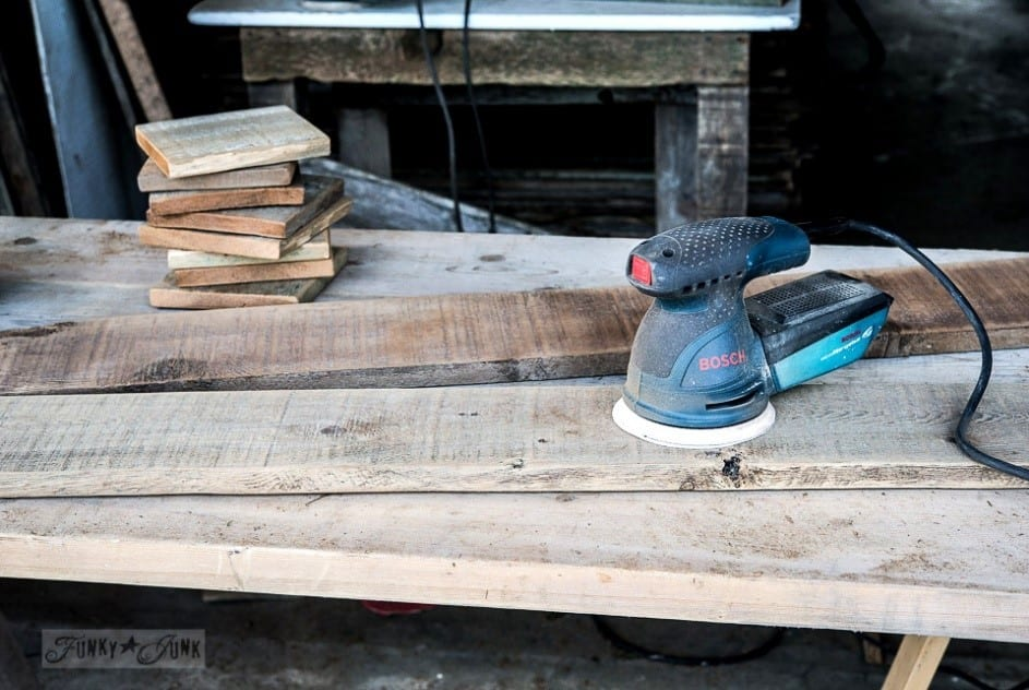 Step 1 How To Clean Reclaimed Wood