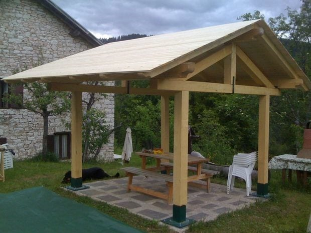 The Tall And Airy Gazebo