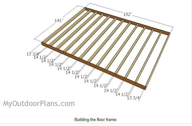 12 By 16 Diy Barn Shed Plans 2