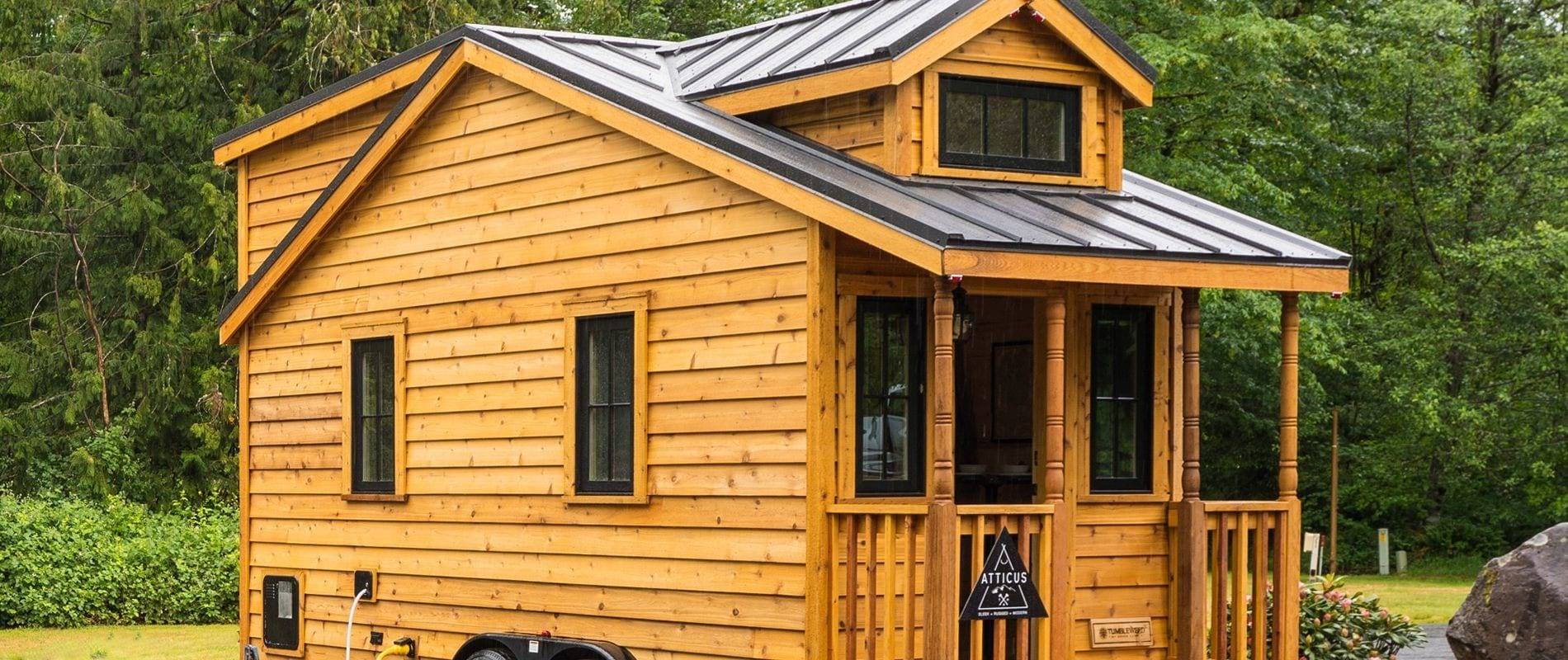 Atticus Tiny House With Modern And Manly Interior