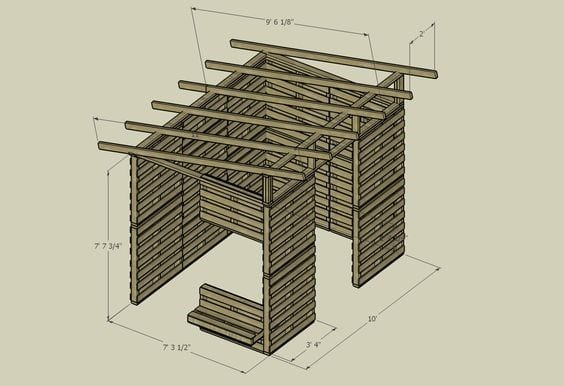 10 Pallet House DIY Plans – Cut The Wood on small house floor plans, pallet tree house plans, pallet house building plans, wood pallet house plans, pallet house floor plans, post and beam carriage house plans, pallet dog house plans, tiny shed house plans, pallet chicken house plans, pallet house design plans,
