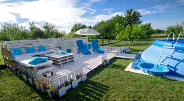 Beautiful Pool Patio Deck By Little Things 2
