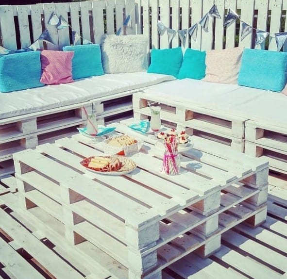 Beautiful Pool Patio Deck By Little Things