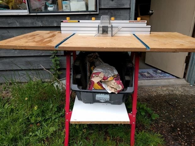 Cheap Router Table Plan