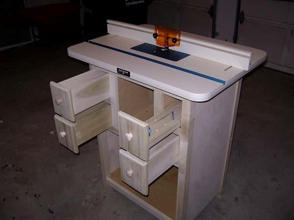 Jane's Router Table Design