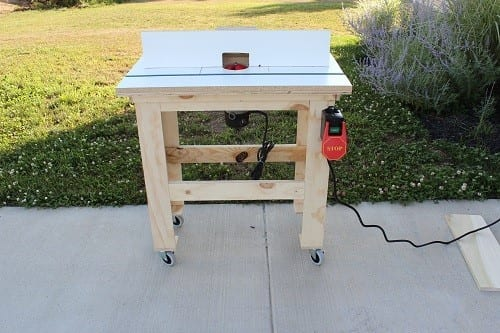 One Project Closer Router Table
