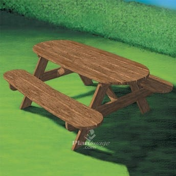 Outdoor Picnic Table For Kids