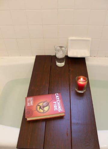 Pallet Bath Shelf By Practically Functional