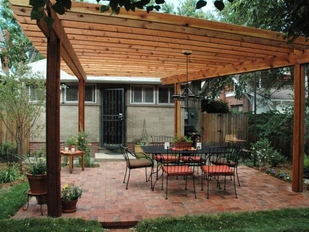 Plans For A Large Wooden Pergola