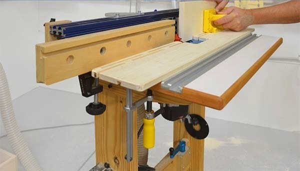 Router Table Pressure Jig