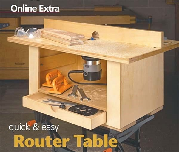 Simple Router Table