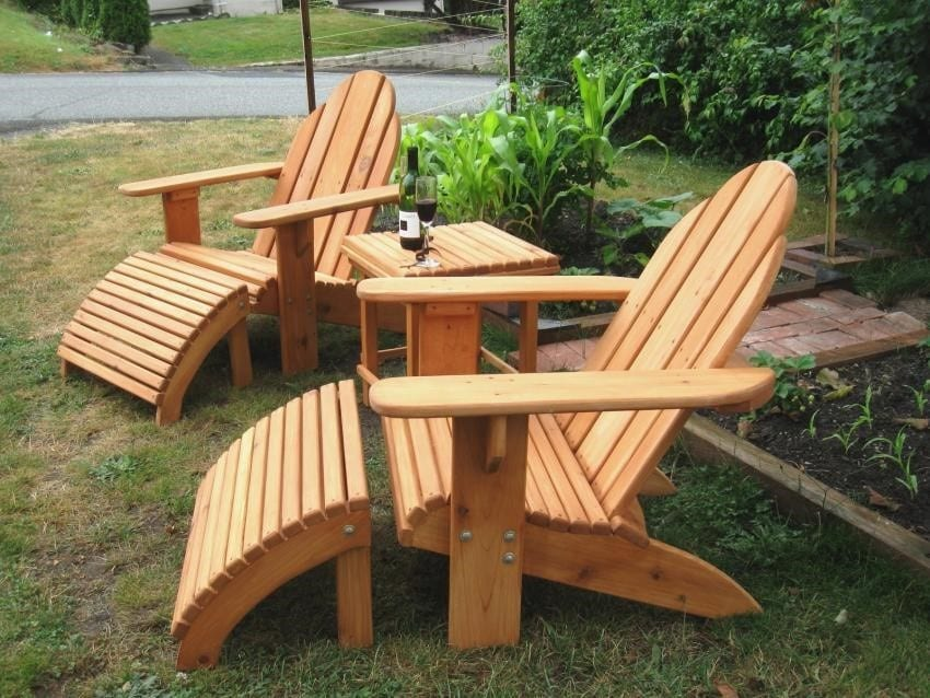 The Conventional Adirondack Chair Plans