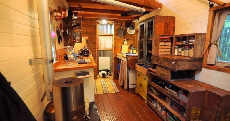 Tiny House To Travel The World With And In