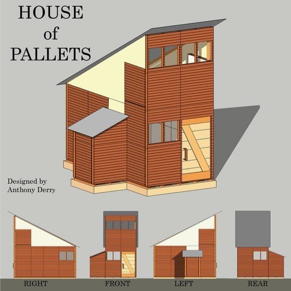 Two Story Pallet House 2