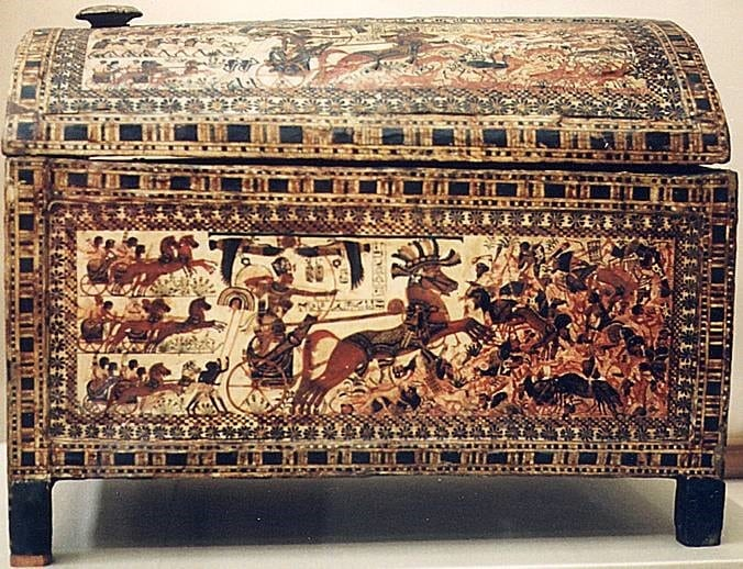 Another Magnificent Chest Discovered In King Tutankhamun's Tomb